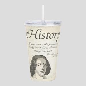 Baruch Spinoza [Histor Acrylic Double-wall Tumbler